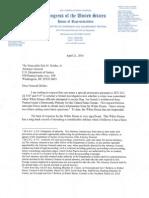 4-21-10 Issa Letter to Holder - Sestak