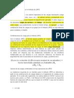 Calculo de Las Cargas Por El Método de LRFD