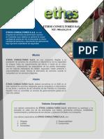 Brochure Ethos Consultores Completo