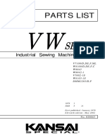 Partsbook Kansai V7002-1S