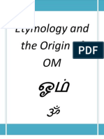 Etymology and the Origin of OM