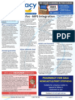 Pharmacy Daily for Tue 08 Mar 2016 - Minfos MPS integration, PSA urges e-Health uptake, PSA MIMS Tas Intern, Guild Update and much more