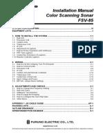 FSV85 Installation Manual B1 8-23-2012