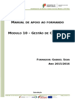 Manual de Apoio Ao Formando - Módulo 10