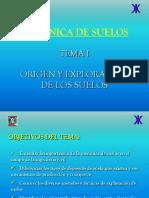Tema 1. Origen y Exploracion de Los Suelos