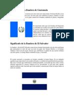 El Significado de Las Banderas de Centroamerica