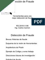 Deteccion Fraude con PICALO DetectLets