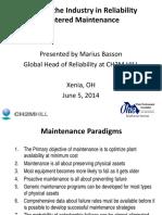 Maintenance Management and RCM