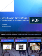 Cisco Mobile Innovations 2013 Expanding New Business Opportunities for the Mobile Internet