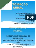Trabalho de Portugues - Automação