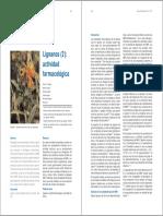 Lignanos y Actividad Biologica