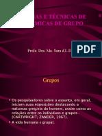 Teorias e Tecnicas de Dinamicas de Grupo