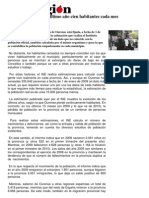A perda de poboación en Ourense