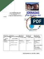 JORNADAS CULTURALES.Portada