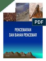 1. Pencemaran Dan Bahan Pencemar