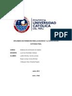 """Propuesta de intervención didáctica para un curso online sobre """"Seguridad y y Salud ocupacional en el Trabajo"""""""