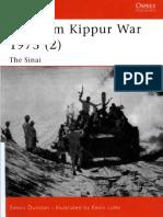 Osprey - Campaign 126 - Yom Kippur War (2) Sinai