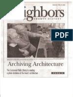 PostStandard_2006_ArchivingArchitecture