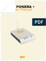 LA FONERA+ USER Manual m2201_1_01