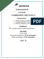 corrosion de metales