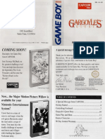 Gargoyles Quest - Manual - GB