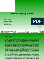 SERIE Taylor y Fourier