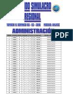 Segundo Simulacro Regional Dom 06-03-2016 Publicar