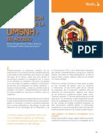 La producción científica de la UMSNH y su acceso