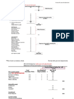 2. Format Financial Statement With Year-End Adjustments