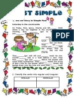 187294ad60250112ff9 83381519past Simple Story Half Editable
