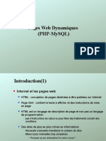 Php cours iscae mauritane