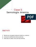 Medicina I - Anemias