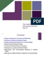 Liquid Gas Absorption Process
