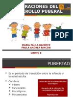 Alteraciones desarrollo puberal 1
