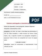 Ensinar Português a Brasileiros, Por Que