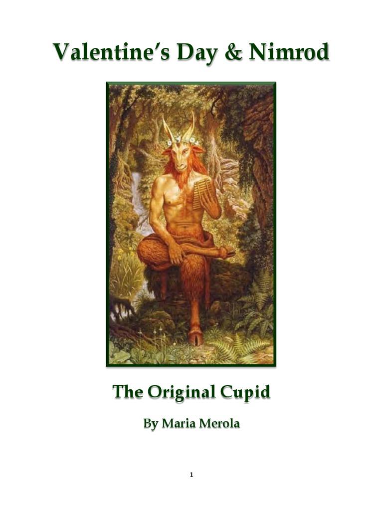 Valentine\'s Day & Nimrod: The Original Cupid By Maria Merola ...