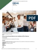 03-05-2016 Rinde Protesta Ernesto Robinson Como Candidato Del PRI en Reynosa