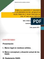 1.Reglamento RAEE - Perú