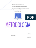 Importancia de la  Metodoligia