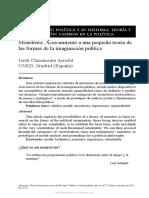 Las ideas. Su política y su historia