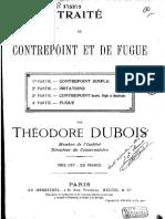 Dubois - Traite Du Counterpoint