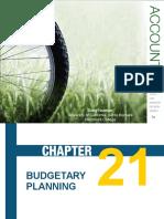 Ch21 Budgetary Planning