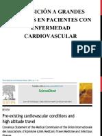 Exposicion a alturas en Pacientes Con Enfermedad Cardiovascular
