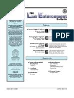 FBI Law Enforcement Bulletin - July04leb