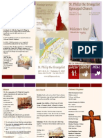 St. Philip the Evangelist Episcopal Church Brochure