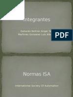 Normas Instrumentaciones