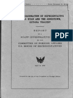 House Report on the Assassination of Leo Ryan - 1979