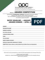Opc Awards 2007