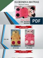 085729878262, Matras Boneka Murah, Matras Boneka Mickey Mouse, Matras Boneka Karakter