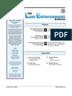 FBI Law Enforcement Bulletin - July05leb